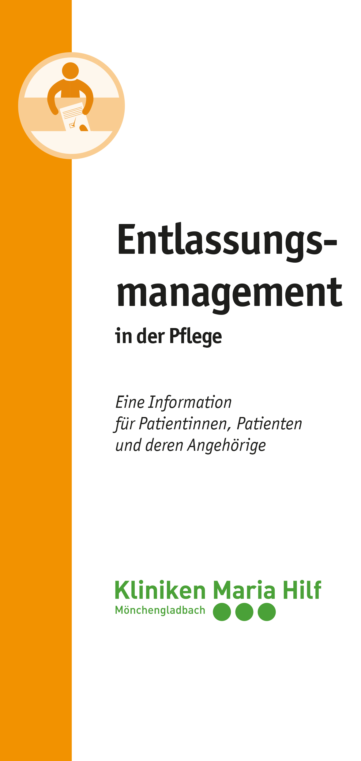 Flyer Entlassungsmanagement