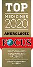 Focus Siegel 2020 Andrologie