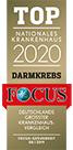 Focus Siegel 2020 Darmkrebs