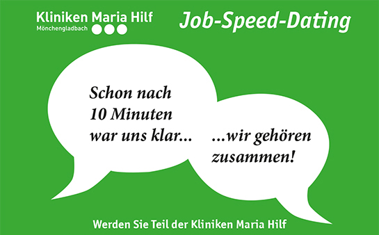 Das Job-Speed-Dating